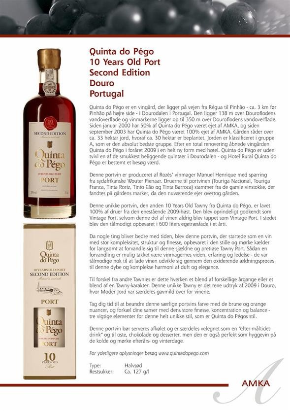Nr. 35 Quinta do Pego 10 Yards Old Port Second Edition